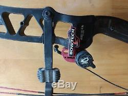 Expérience Black Bowtech Avec Flèches De 70lb De Chasse À L'arc Qad Rest