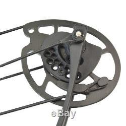 Flèches Arc À Poulies Carbon Set 30-55lbs Réglable Chasse Tir À L'arc Bow