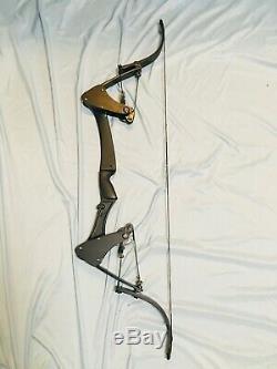 Green Arrow Aigle Noir Oneida Arc Pêche Chasse Droite À Court Tirage 25-25-65