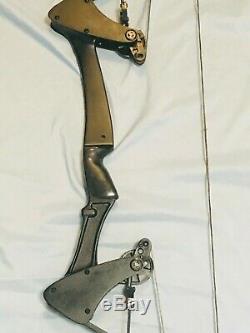 Green Arrow Aigle Noir Oneida Bow Right 30-45-65 Lb. 28-30 Med Excellente Hunt