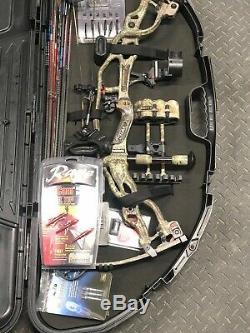 Hoyt Carbone Spyder 30 Bow Loaded Hunt Prêt Main Gauche