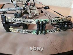Hoyt Hyperforce 24.5-28in, 60-70lb Prêt À Chasser! Vue, Stabilisateur, Repos, Etc.