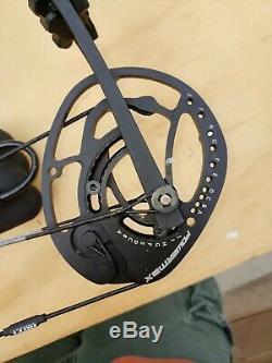 Hoyt Powermax 60-70lb Tire Le Poids Arc Blackout Blackout! 25.5-30 Longueurs Prêt À Chasser