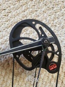 Hoyt Pro Comp Elite Xt2000 Arc De Chasse Pour Cible 3d Plat Noir Rh / 28.5-30 / 60lb