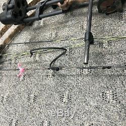 Hoyt Reflex Bighorn Bow Rh 27-30 Compose Tirage Lb Prêt À 60-70 Hunt