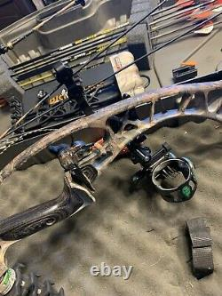 Hoyt Spyder 30 Bow Compound Gauche Main Lh Tir À L'arc Chasse 60-70 #