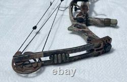 Hoyt Trykon Compound Chasse Bow 50-70 Lb Tirage Wt Rt Main. 28.5 D. L.