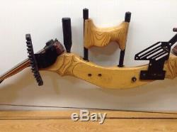 Hunting Bow- 48 Archerie Compose Jim Cox Martin Black Ram Bois Dynabo Prototype
