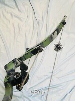 Hurry Mint Oneida Strike Eagle Poisson Poissons / Chasse Droit Moyen Tirage 30-50-70 Lb