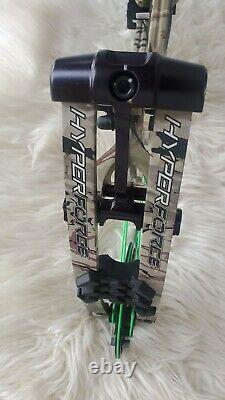Hyperforce Hoyt Hyper Zt 85% 29-30dl 70lbs Rh Composé Bow Ridge Reaper Witho Repos