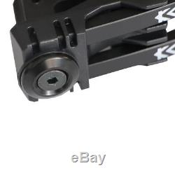 Irq Archery 45-70lbs Kit Noeud Composé Noir Chasse Cible Membres Américains Droitier