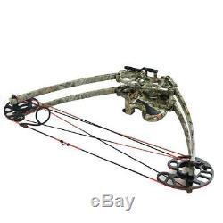 Irq Archery Triangle Arc À Poulies 50lbs Main Droite Pour Tir À La Cible De Chasse