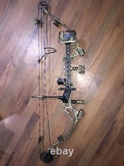Jennings Buckmaster Compound Bow Hunting Package! Rh 29/70lb. Vue De Repos De Flèche
