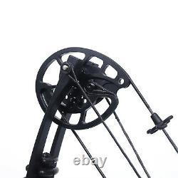 Kit De Tir À L'arc À La Main Droite Composé Camo De Chasse Camo Set 30-60lbs Vente