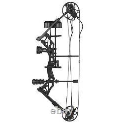 Kit De Tir À L'arc Pro Composé À La Main Droite 30-70lbs Arrow Camo De Chasse De Cible Ensemble