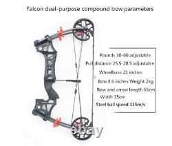 La Chasse Extérieure À Double Usage Peut Lancer L'arc Et Les Flèches De Tir De Composé De Boule En Acier