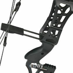 M109e 30-60lbs Archery Compound Bow Catapult Double Use Steel Ball Hunting Shoot