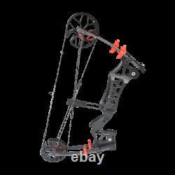 M109e 30-60lbs Composé Bow Catapulte Balle En Acier À Double Usage Chasse Au Tir À L'arc Rh Lh