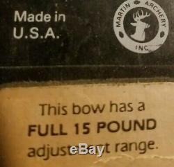 Martin Lynx Magnum M-7 Aluminium Composé D'acier Arc Tir À L'arc # 1 Meilleur Pour Hunt Rt