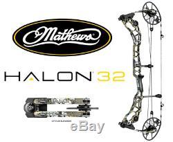Mathews Halon 32 Main Droite 31 Dessiner 60 # 70 # Composé Chasse À L'arc Elevated