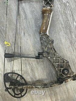 Mathews Helim Compound Hunting Bow 29 Main Gauche 50# À 60# Lost Camo Utilisé