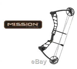 Mathews Mission Ballistic 2.0 28 Right Hand 50 # 70 # Chasse Arc Noir + Peep
