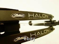 Mathews Tir À L'arc Halon 5 Avec Accessoires 28.5 Rh 60# 70# Pierre Utilisée