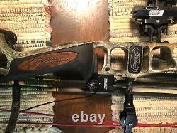 Mathews Vertix Bow 28/70 Avec 24 Flèches Gold Tip Hunter Xt. Prêt À Chasser