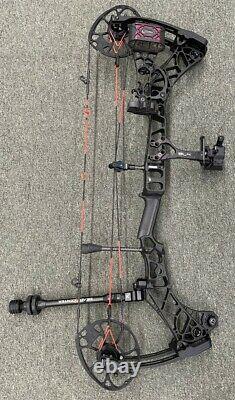 Mathews Vxr 31,5 Composé Bow R/h 30 70 Lbs Cbe Sight Quiver Stabilizer