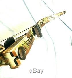 Mint Oneida Lite Magnum Force Aigle Arc Pêche Chasse Rh 30-50-70 À Long Tirage