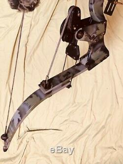 Mint Oneida Strike Eagle Bow Pêche Chasse Droite Med Tirage 25-50-70