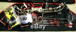 New 2020 Pse Bow Brute Force Nxt Mossy Oak Camo 70 # Rh Hunting Plein Paquet