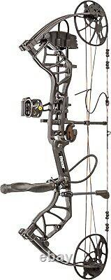 New Bear Legit Rth Compound Bow Hunting Package! Ombre Noir Rh 10-70lb 14-30dl