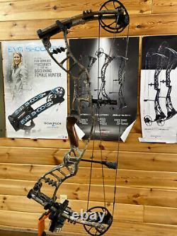 Nice Utilisé Hoyt Nitrum 30 Bow 70lb Longueur 28 Camo Hunting Bow
