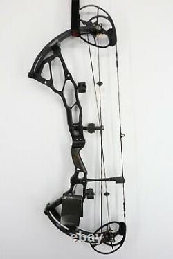 Nouveau Bowtech Bt-x 31 Rh 31 A-a Archery Compound Bow 70# Dw 27-31 DL Black Hunt