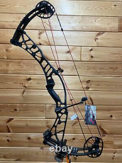 Nouveau Hoyt Axius Ultra Rh 60-70# 27-30 Black Withred Strings Bow Hunting Target