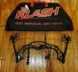 Nouveau Hoyt Klash Composé Bow 15-70 # 18-29 Tkp Sight Stabilisateur Case Tir À L'arc Chasse
