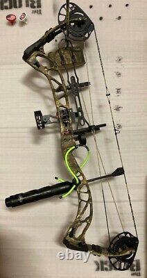 Nouveau Pse Brute Force Nxt Bow Mossy Oak Camo 70# Rh Hunting Bow Package