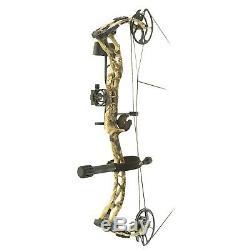 Nouveau Pse Ramped Hunting Rts Composé Bow Paquet Rh Kryptek Highlander 70lb