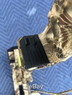 Nouveau Pse Xpedite Composé Chasse À L'arc À La Main Droite Kryptek Highlander 70lb