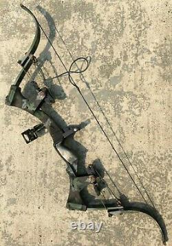 Oneida Eagle Aero-force Compound Bow Rh Medium 50-70# 47 Chasse À La Pêche À L'arc