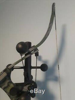 Oneida Strike Eagle Chasse Au Poisson Arc Droite 30-50-70lb Tirage 29-32