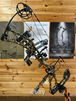 Parfait Utilisé Élite Ritual 30 70# 30 Rh Camo Composé Bow Hunting Package