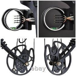 Pro Compound Main Droite Bow Kit Arrow Tir À L'arc Cible Chasse 20-70lbs