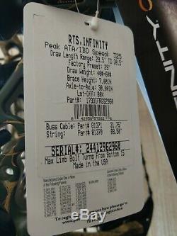Pse Arc Infinity, £ 60, Rh (mise À Niveau Vers Stinger X) Prêt À Forfait Hunt