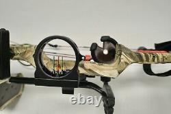 Pse Archery Sinister Compound Lh Hunting Bow Package Avec Boîtier Et Flèches
