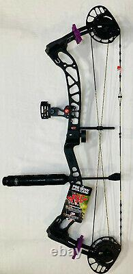 Pse Brute Nxt 2021 Bow Black 35-70# Rh Hunting Bow Package Nouveaux Navires Libres Aujourd'hui