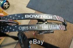 Rare Bowtech Chris Kyle La Légende Arc À Poulies Rh Non-chasse