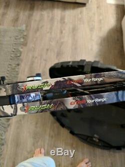Strother Archery Sx Rush Rh60 70 Livres - Arc À Poulies Longueur À Dessiner 28.5