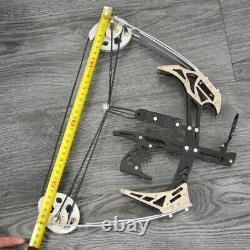 Tir À L'arc 14'' Mini Composé Bow 25lbs Chasse Arrow Laser Sight Cible Shooting